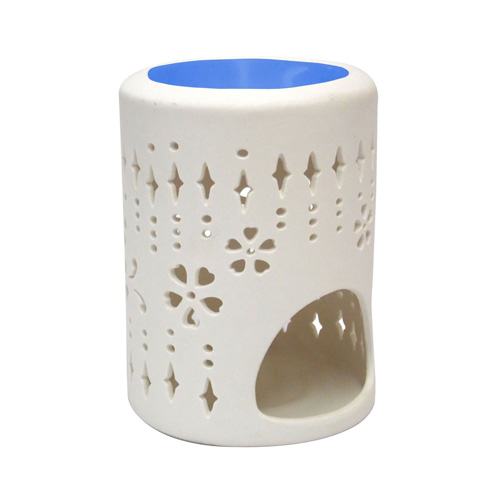 Lace Blue Woodwick Wax Burner
