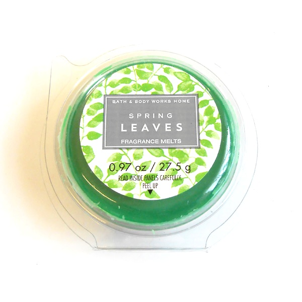 Spring Leaves Bath & Bodyworks Wax Melt
