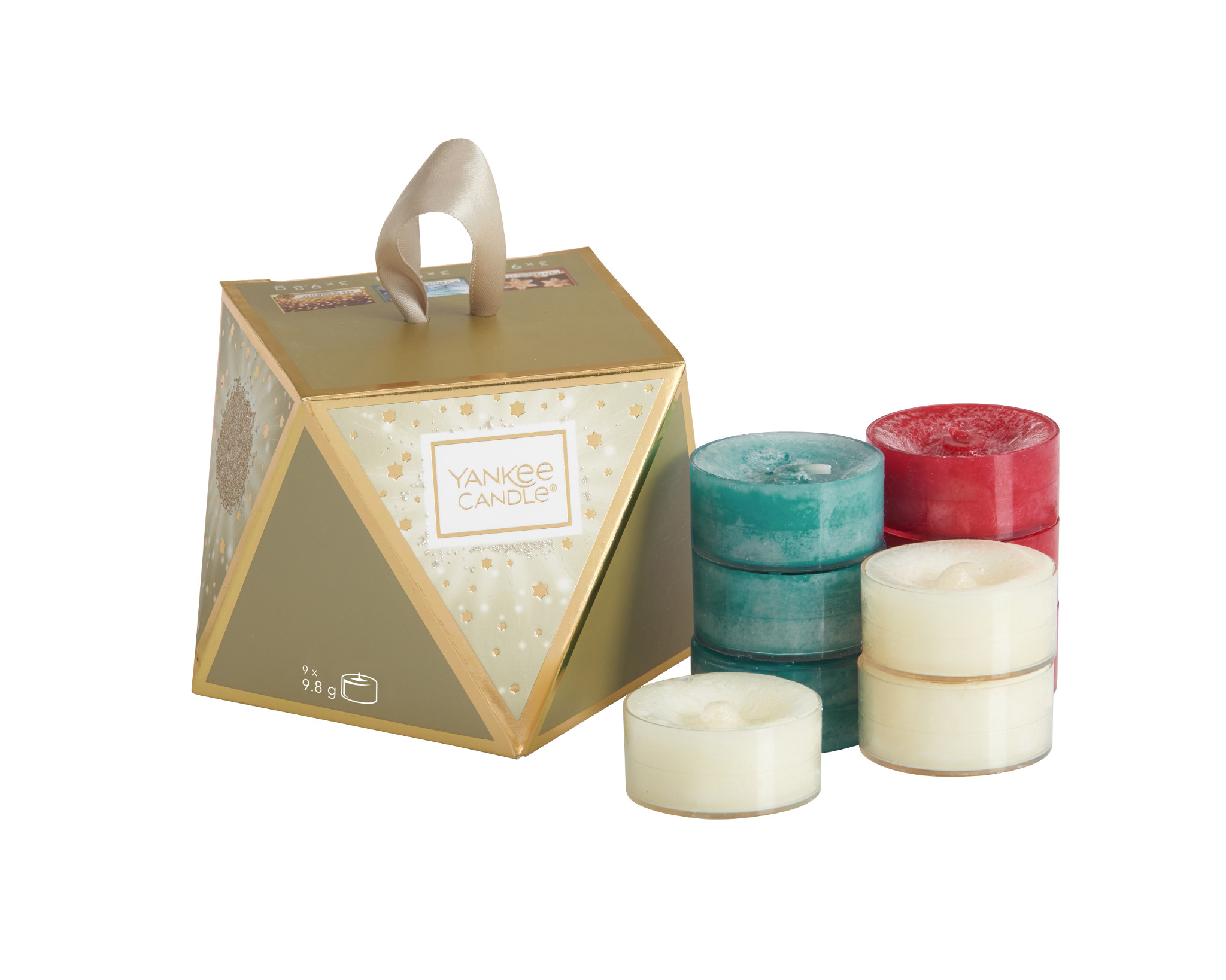 Holiday Sparkle TeaLight Stocking Filler Gift Set