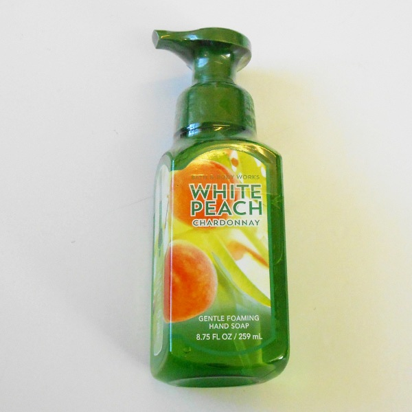 White Peach Chardonnay Gentle Foaming Hand Soap