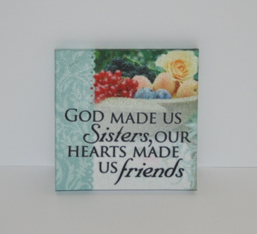 Magnet - God made us sisters, ....