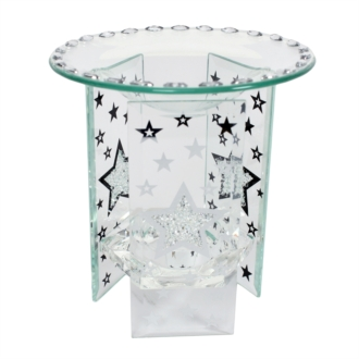 Glass Star Village Wax Melt Burner (VC422)